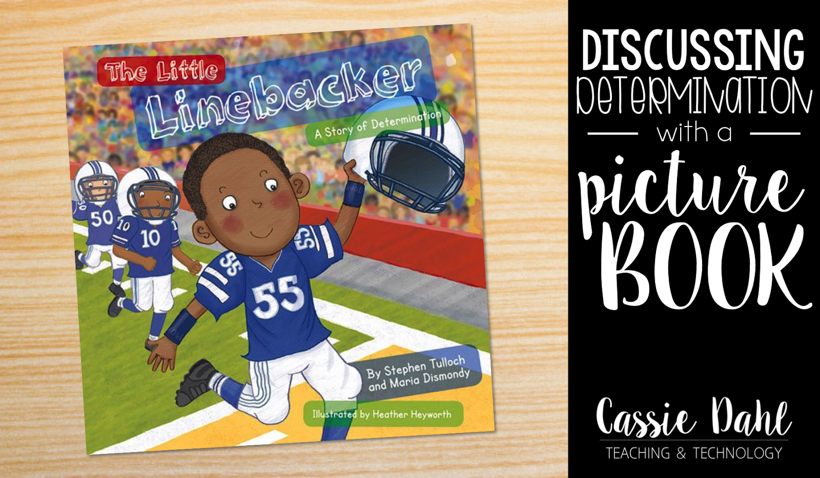 Discussing determination with a picture book is one of my favorite ways to relate to my students!