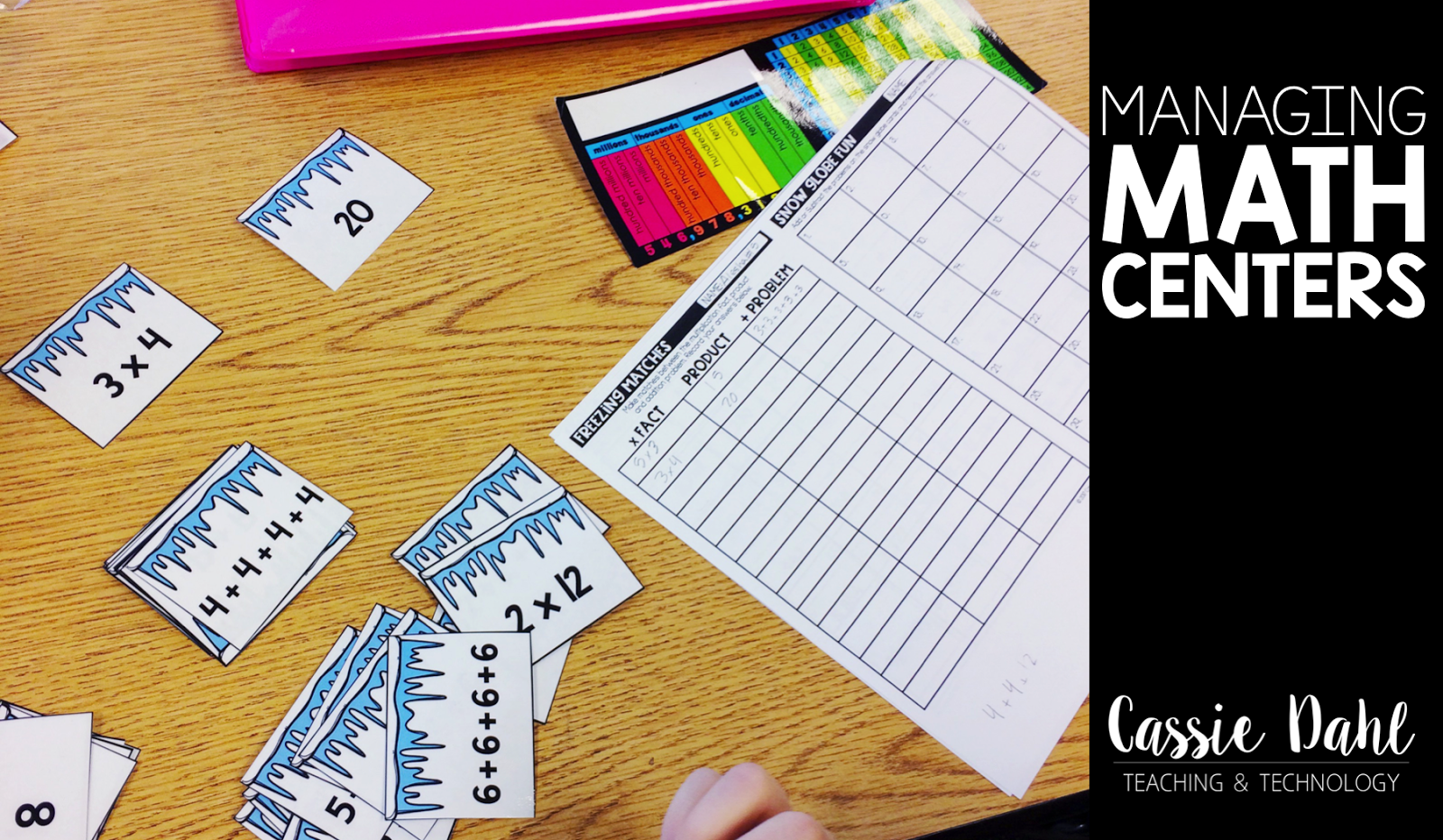 Managing math centers made easy!