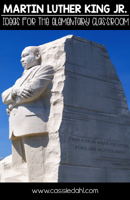 Looking for ideas for Martin Luther King, Jr. Day for your upper elementary classroom? This post includes videos, a read-aloud list, a project and even a graphic organizer freebie!