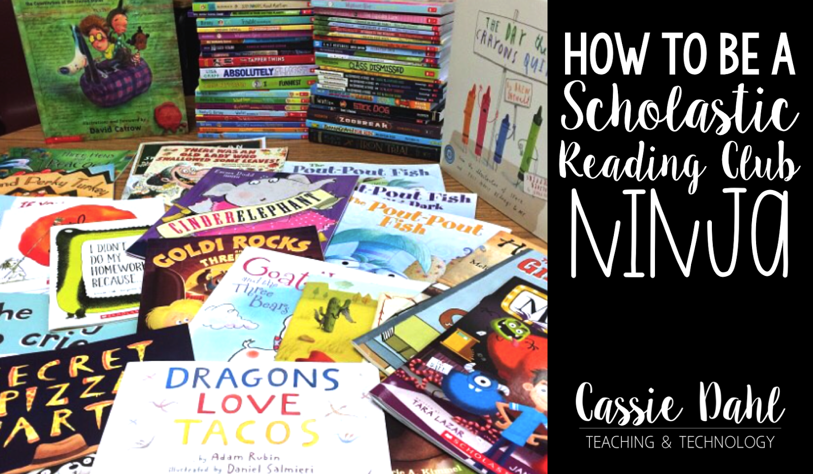 Do you use Scholastic Reading Club in your classroom? Are you maximizing your orders and getting free books for your students? This blog post has tons of ideas on how you can become a Scholastic Ninja and make the most of your monthly book orders.