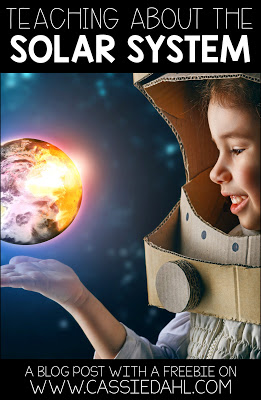 Looking for videos, activities, books and more to teach about the Solar System? This post contains all that and more! It even includes a free Solar System packet with an informational text!