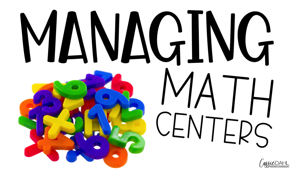 Easily manage math centers in your elementary classroom.